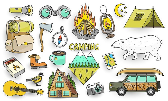 what to bring for camping in a tent